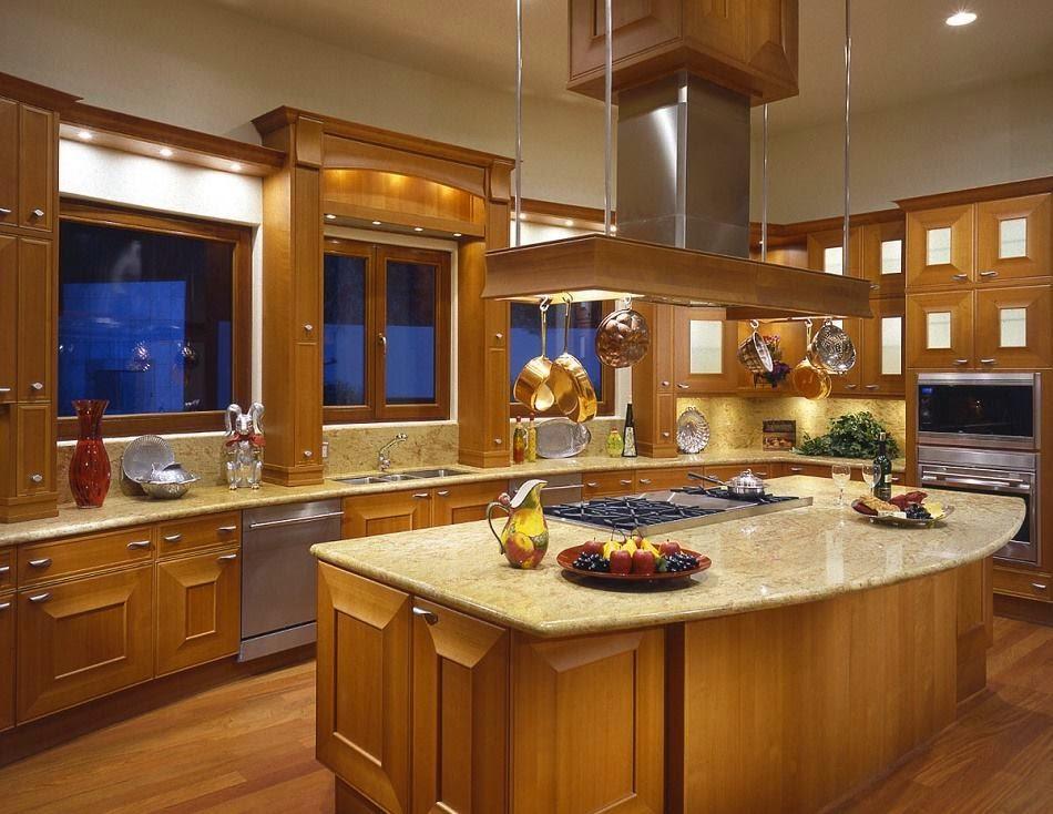 Американцы редко оформляют окна на кухне шторами