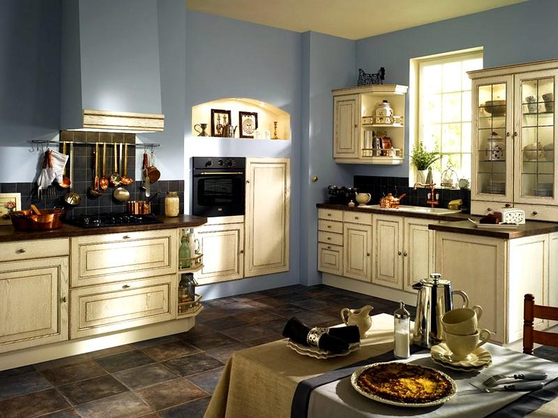 Мебель для кухни в стиле прованс: беспроигрышные варианты и секреты выбора