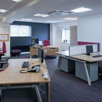Современный офис помещение
