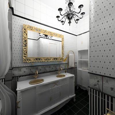Английская ванная комната на фото