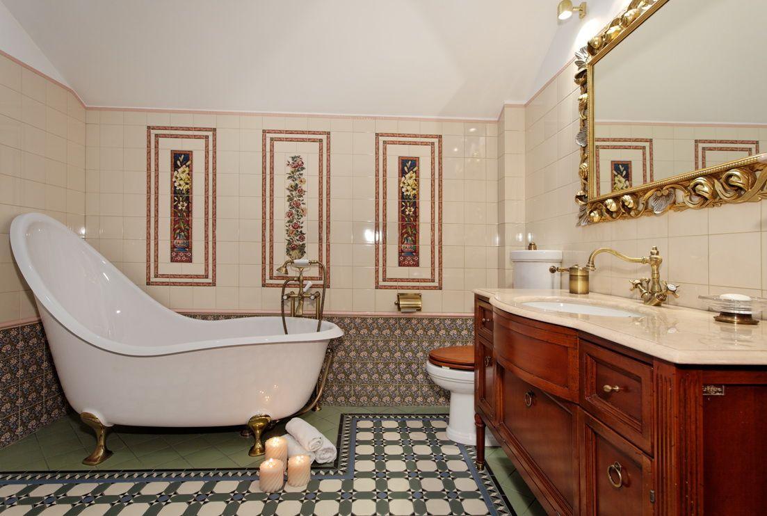 Ванная в английском стиле: британская сдержанность и аристократизм