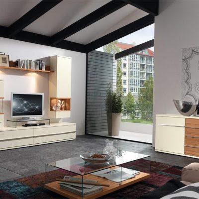 Интерьер гостиной в современном стиле модерн