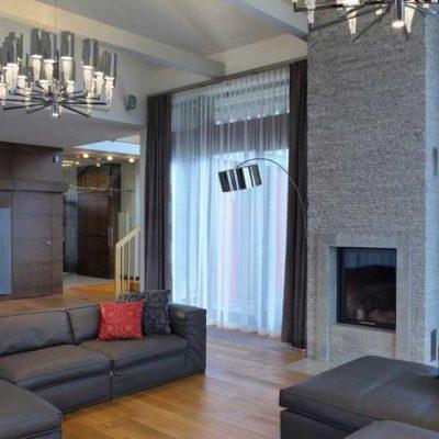 Оформление гостиной в стиле модерн