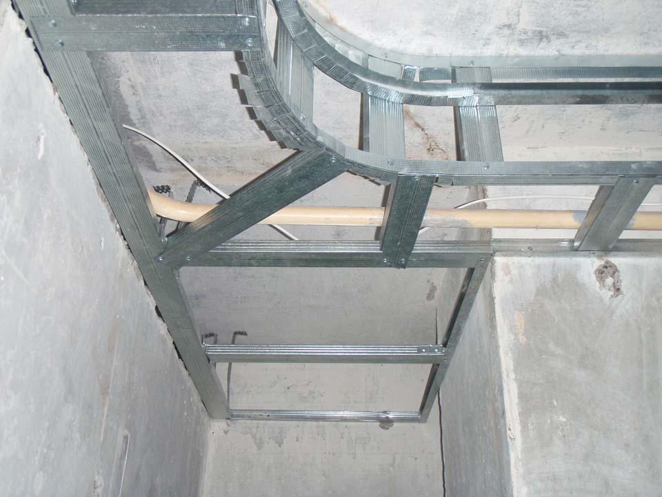 двухуровневые потолки из гипсокартона пошаговая инструкция