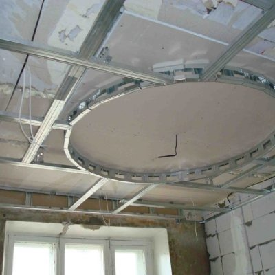 Потолок гипсокартон фото