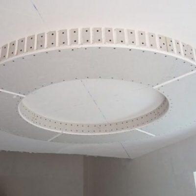 Потолок круг