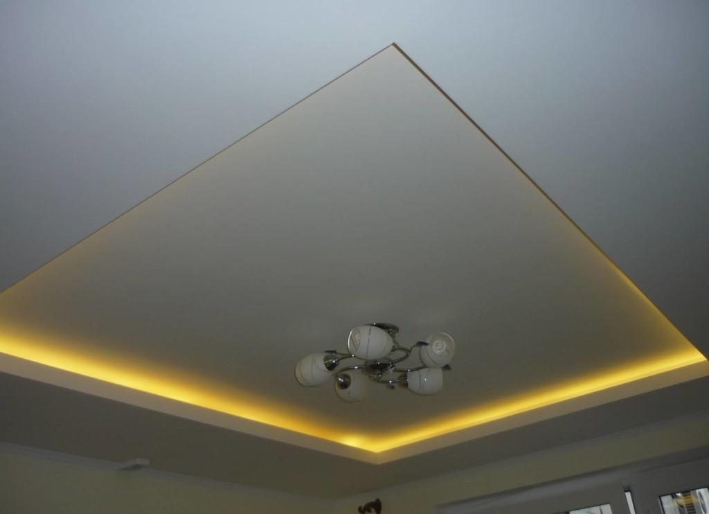 подвесной потолок из гкл