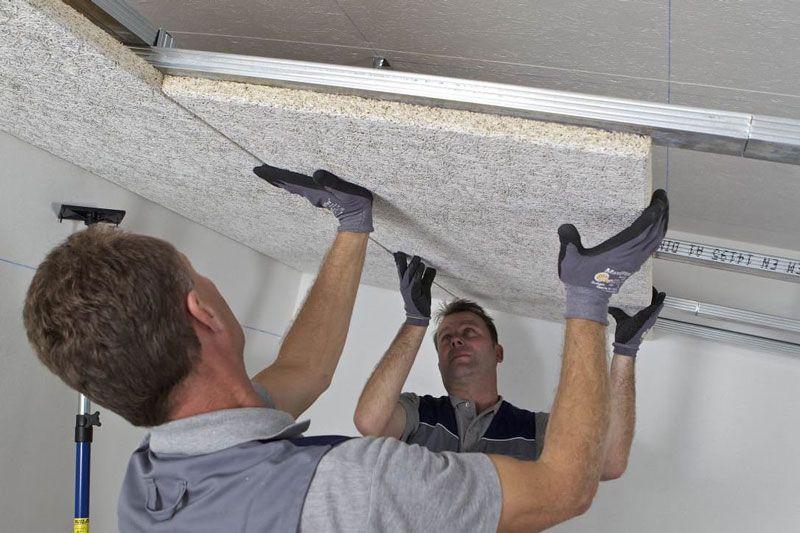 Выбор материала и особенности монтажа потолочной шумоизоляции
