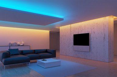 Белый многоуровневый потолок