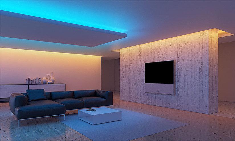 Варианты конструкций подвесных потолков с примерами