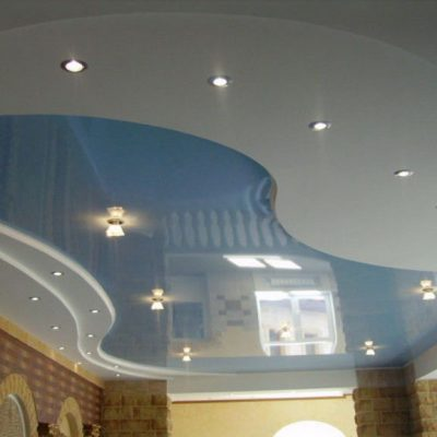 Голубой потолок