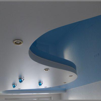 Голубые потолки