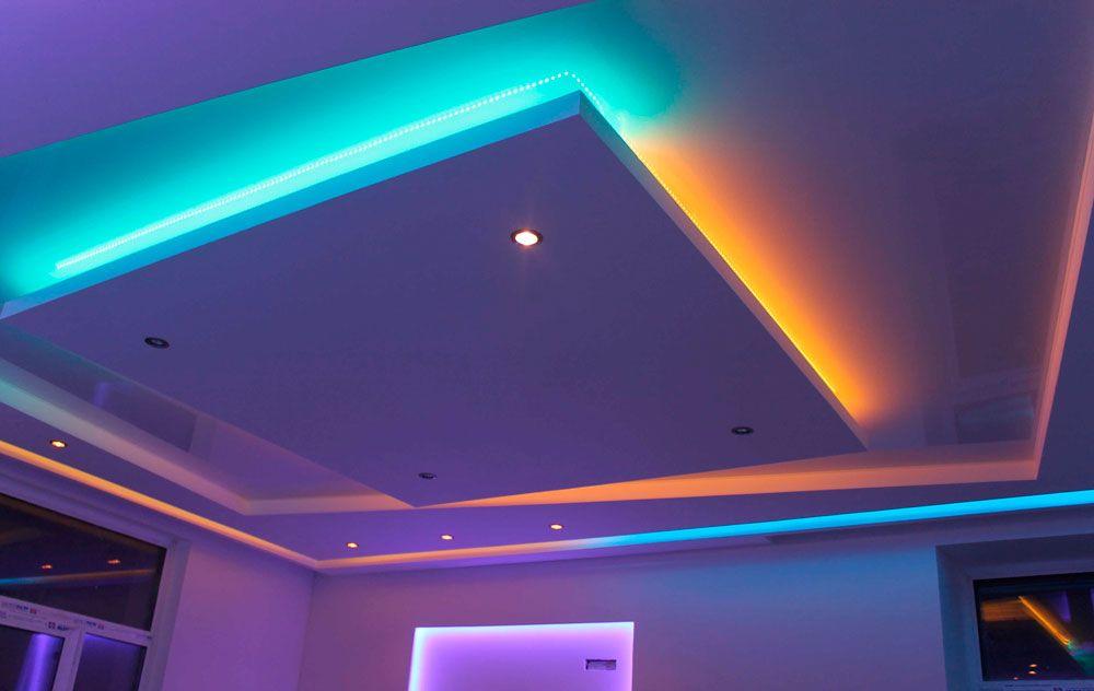 Парящие потолки — современный тренд интерьерной моды