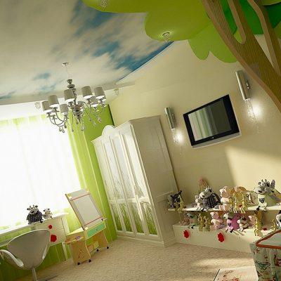 Детской потолок