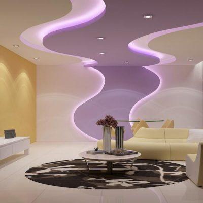 Дизайн фигурного потолка