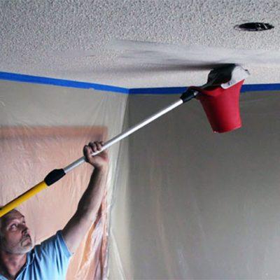 Зачистка потолка