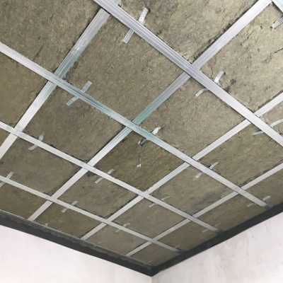 Звукоизоляция потолка натяжного