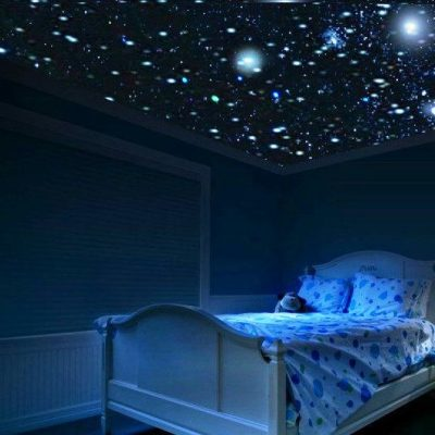 Звёздное небо дома фото