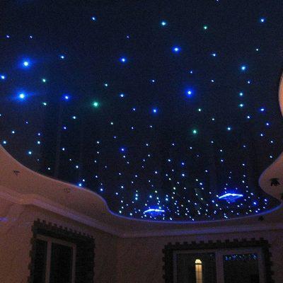 Звёздное небо тканевый потолок