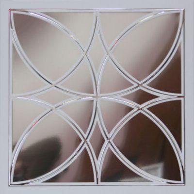 Зеркальная плитка с рисунком