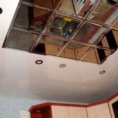 Кассетный потолок дома
