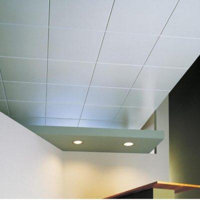 Кассетный потолок фото белый