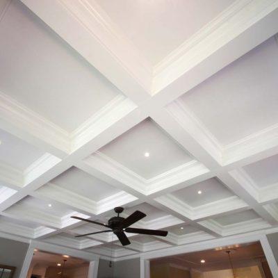Кесоный потолок