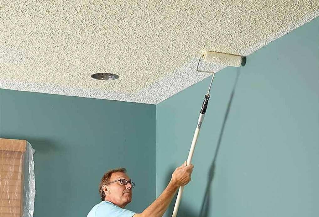 Виды лучших красок, подходящих для потолка