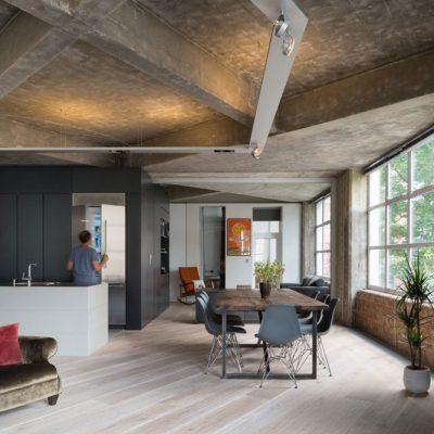 Лофт потолок в комнате