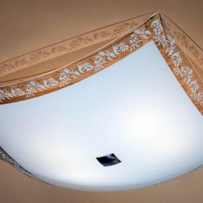 Люстра для низкого потолка
