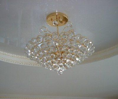 Люстра под подвесной потолок