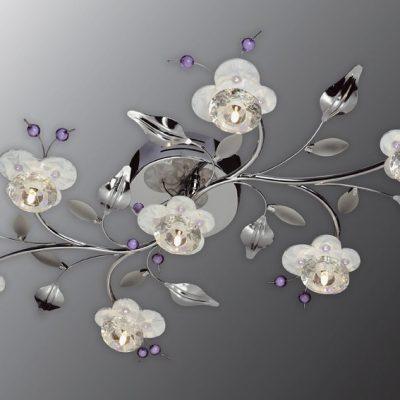 Люстра цветок