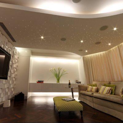 Навесной потолок для дома