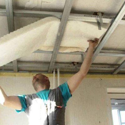 Натяжной потолок шумоизоляция