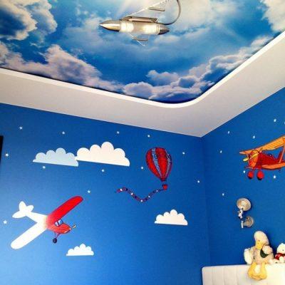 Небо в детской