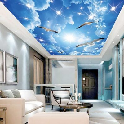 Небо 3д потолок