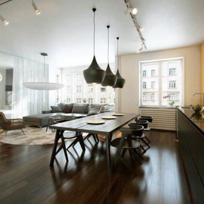 Освещение и потолок