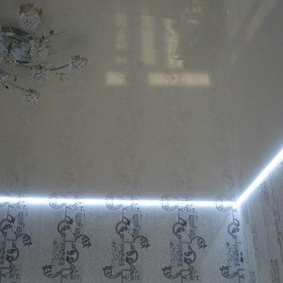 Парящие натяжные потолки фото