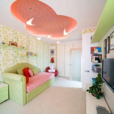 Подвесной потолок уровневый