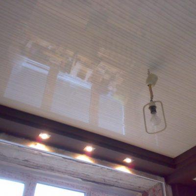 Потолки из панелей дома