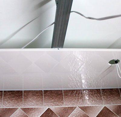 Потолки из панели фото