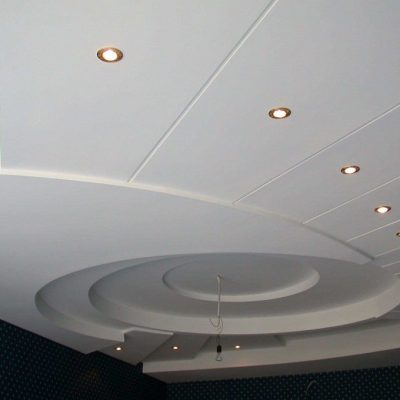 Потолки из пластика многоуровневые