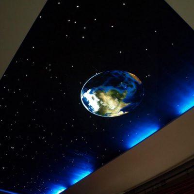 Потолки космос