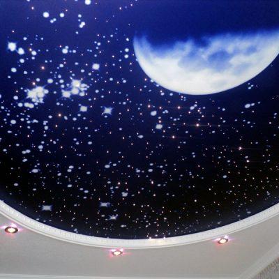 Потолки со звёздами