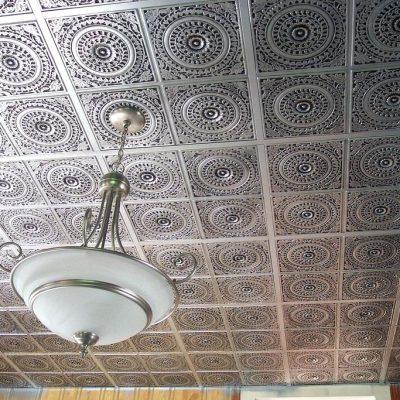 Потолок плитки