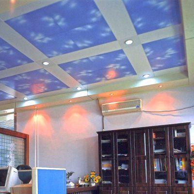 Потолок алюминиевый