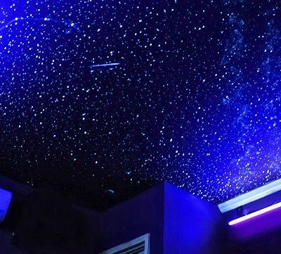 Потолок в виде звёздного неба