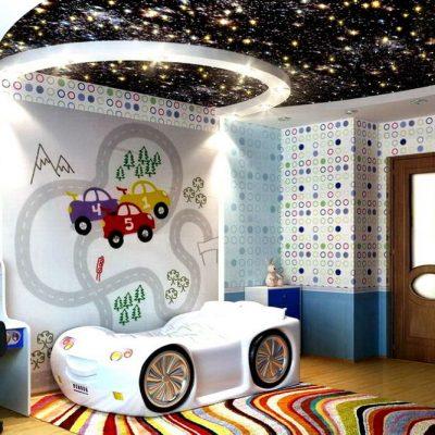 Потолок в детскую