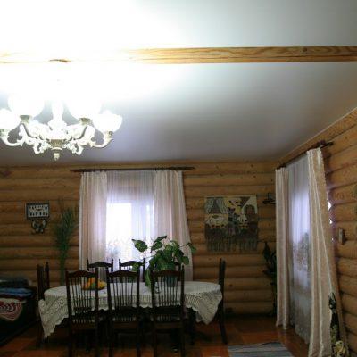 Потолок в доме натяжной