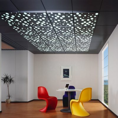Потолок в офисе